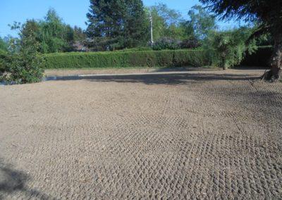 Semis de pelouse à Nandrin