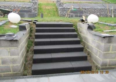 Aménagement d'escaliers
