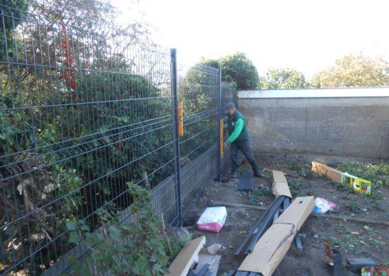Pose de clôture à Liège
