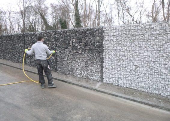 Pose d'une clôture BETAFENCE ZENTURO à Liège