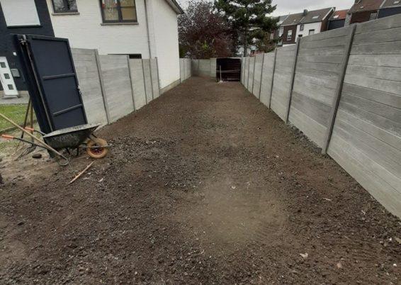 Réaménagement d'un petit jardin de ville à Liège