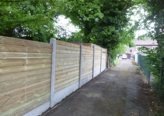Installation d'une clôture à Visé