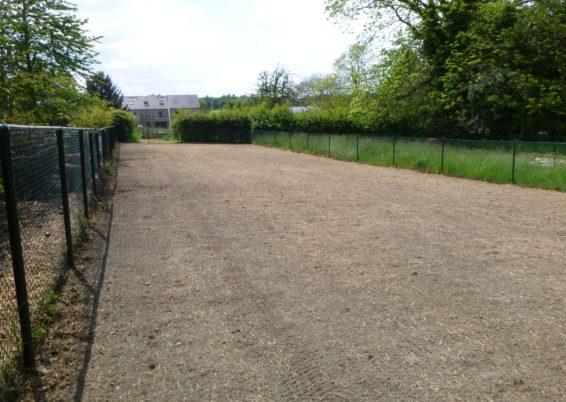 Réalisation d'un semis de pelouse à Boncelles