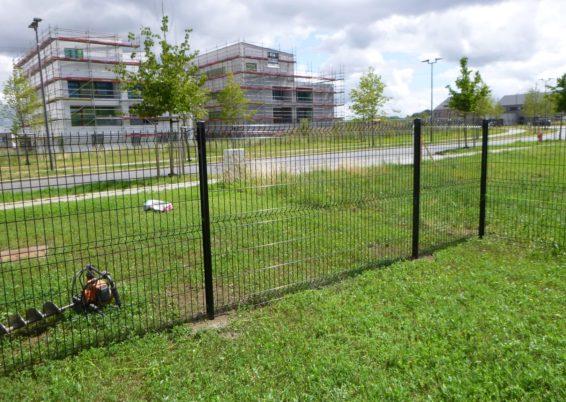 Installation d'une clôture rigide à Grivegnée