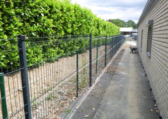 Placement d'une clôture rigide à Aywaille