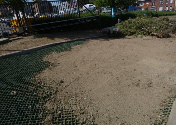 Réaménagement du parking de l'entreprise SCHREDER à Burenville
