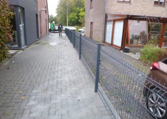Placement d'une clôture de séparation à Waremme