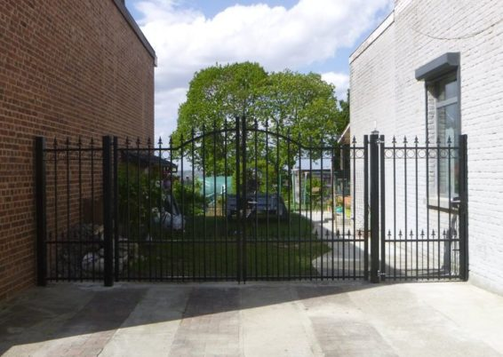 Placement d'un portail en fer forgé à Seraing