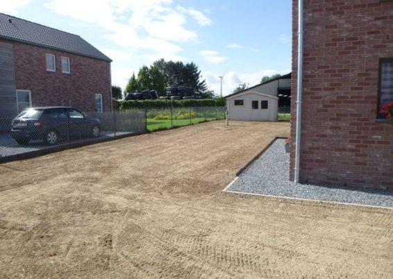 Création d'une pelouse à Villers-le-Bouillet