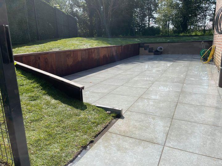 Aménagement d'un jardin à Horion-Hozémont