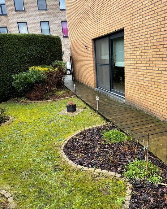 Réaménagement d'un jardin à Herstal