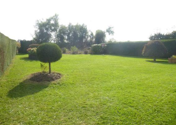 Remise en forme d'un jardin un peut oublié à Horion-Hozémont